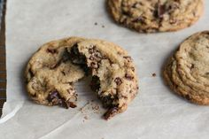 Basic Brown Sugar Cookie Dough & Chocolate Chip Cookies
