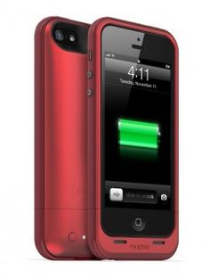 Mophie Juice Pack Plus iPhone 5 - rot