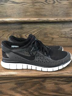 timeless design ea34e 81e16 Mens Nike Free Run Black Running Shoes Sz. 13 ID 395912-002
