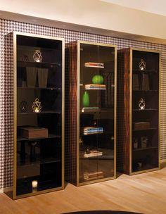 DOM Edizioni- #robertcabinet #juliettebookcase #bookcase #cabinet #interiors #luxury #furniture #arredamento