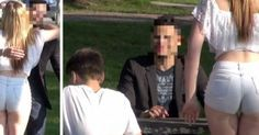 She's On A Tinder Date In The Park. Now Watch His Reaction When Her Son Shows Up! - http://eradaily.com/shes-tinder-date-park-now-watch-reaction-son-shows/