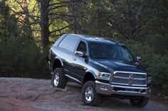 Philadelphia / New Jersey: Fans of the Ram Truck brand - prepare to be amazed. At the Easter Jeep Safari 2015, these guys quietly unveiled what will surely become the must-have truck for 2017: The Ramcharger.