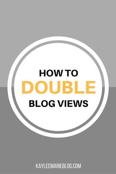 How I Doubled my Blog Views