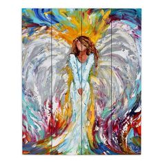 Painting Prints, Painting On Wood, Art Prints, Metal Wall Art, Wood Art, Wood Plank Walls, Feather Angel Wings, Canvas Art, Canvas Prints