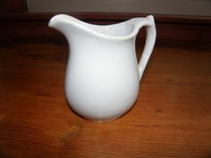 Vintage C Meakin Small Ironstone Pitcher by AllredsAntiques