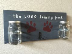 A personal favorite from my Etsy shop https://www.etsy.com/listing/227337614/large-dog-treat-holder-dog-leash-holder
