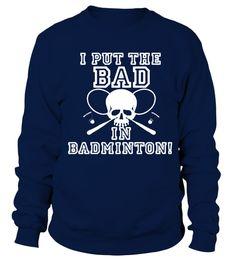 e87b04592e Teezily sells Hoodies   Sweatshirts badminton Play mom team badmin tshirt  online ▻ Fast worldwide shipping ▻ Unique style