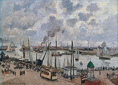 Title: The Port of Le Havre, 1903  Artist: Camille Jacob Pissarro  Location: Private Collection
