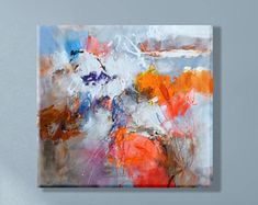 Grande peinture sur toile, Art moderne de la peinture abstraite, peinture acrylique abstraite, Wall Art sur toile, abstract art toile acrylique