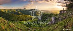http://www.dollarphotoclub.com/stock-photo/Green Rocky moutain at sunset - Slovakia/53645877 Dollar Photo Club millions of stock images for $1 each