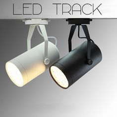 Led track spotlights type 01 - pack of 3 units – tudo and co Home Lighting, Modern Lighting, Lighting Design, Track Lighting, Display Lighting, Kitchen Lighting, Lighting Ideas, Track Spotlights, Ceiling Spotlights