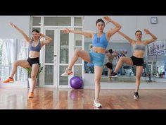 45 λεπτά ΕΡΓΑΣΙΑ ΑΕΡΟΒΙΚΟΥ ΧΟΡΟΥ | 3 σε 1 (απώλεια βάρους, απώλεια λίπους στην κοιλιά, μικρή μέση) - YouTube Aerobics Workout, Youtube, Small Waist, Zumba, Lose Belly Fat, Physique, Fitness Tips, Cardio, 1