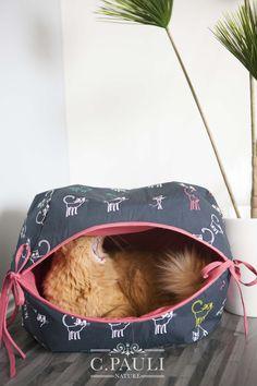 Katzenhöhle für ihren Stubentiger   C.Pauli Nature Blog