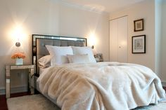 """With that fur, the <a href=""""https://vanguardfurniture.com/pages/Products/Sku/544CK-PF"""" target=""""_blank"""">bed</a> looks positively luxurious."""