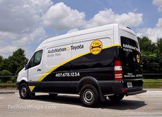 Mercedes Sprinter partial van wrap - Orlando | Flickr - Photo Sharing!