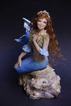 Elisa Fenoglio mermaid doll
