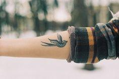 Bird Forearm Tattoo