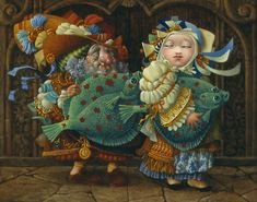 James Christensen | Your Place or Mine?