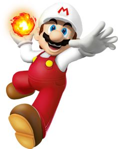 Fire Mario is awesome!