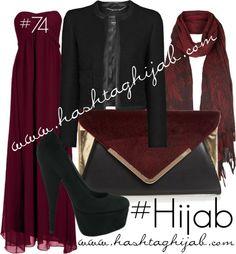 Hashtag Hijab Outfit #74 van hashtaghijab met red handbagsTrue Decadence prom dress€67-johnlewis.comMango black jacket€86-johnlewis.comPlatform pumps€34-pureshu.comFaith red handbag€28-debenhams.comFloral scarve€6,11-newlook.com