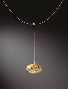 sandra enterline egg necklace
