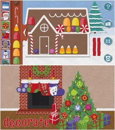 Felt Board Christmas - create Christmas art on your iPAD #kidsapps