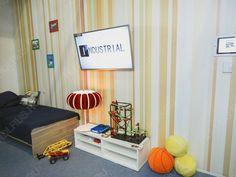 Детская комната на выставке НТВ 2014