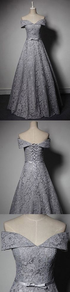 #Grey #Dresses #Gowns #EveningDress
