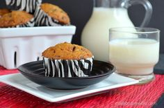 #Loaded #Homemade #Butterfinger #Banana #Muffins #Recipe  - easy banana muffin filled with Butterfinger candy bars