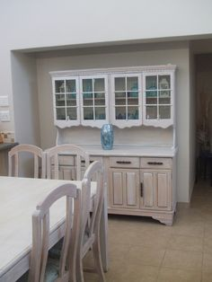 sanded and painted China Cabinet, Recycling, Garage Doors, Inspired, Storage, Outdoor Decor, Projects, Inspiration, Furniture
