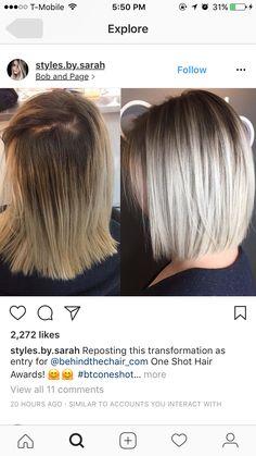 - Galena U. Medium Hair Styles, Curly Hair Styles, Blonde Hair Looks, Hair Color And Cut, Shoulder Length Hair, Great Hair, Pretty Hairstyles, Popular Short Hairstyles, Hair Today