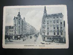Königsberg  ,  Schöne Karte   1915   mit Poststempel
