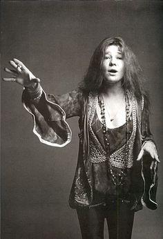 Janis Joplin by Francesco Scavullo