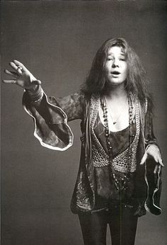 Janis Joplin by Francesco Scavullo