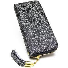 Billetera de Mujer Platanitos lm1617 Negro | platanitos.com