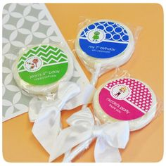 Personalized Kid's Birthday Lollipop Favors
