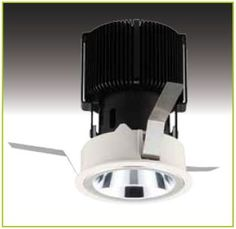 ACCi-LED is a recessed fixed downlight with high-purity aluminium darklight reflector for a low glare #LED fitting - from Photec Lighting