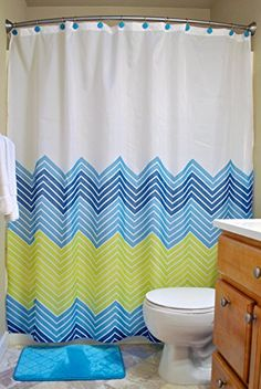DII Oceanique 14-Piece Bathroom Set, Machine  29.00Washable, for Everyday Use, Kids, Teens, Includes Shower Curtain, Shower Hooks, and Bath Rug, Blue Oceanique http://www.amazon.com/dp/B00QGVAHSM/ref=cm_sw_r_pi_dp_9bHXvb1EZ1D9B