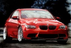 BMW M3. A2 size, with pencils, markers, airbrush
