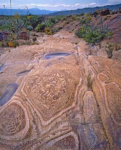 Stone patterns, Big Bend National Park, TX