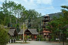 Teluk Bahang Adventure Park Hiking Trails, Cabin, Adventure, Park, House Styles, Home Decor, Decoration Home, Room Decor, Cabins