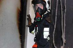 Pożar piwnicy w budynku mieszkalnym...