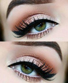 Perfect Shimmer Eye Makeup Ideas 2018 10