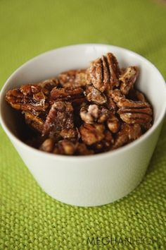 Tasty Tuesday - Sweet and Spicy Pecans