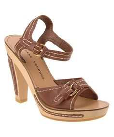 This Bark Ankor Leather Sandal by Chinese Laundry is perfect! #zulilyfinds