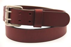 Not this particular belt - something nice and dark brown from these guys. Size 32/33ish