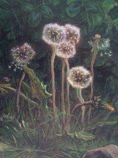 Dandelions by Jean Francois Millet