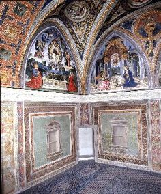 Borgia apartment, Vatican , Rome, Italy
