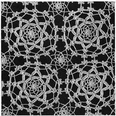 Maker of Dreams Crochet Bedspread Pattern #687 swatch