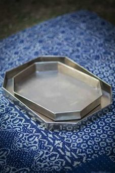 Nickel-Plated Trays